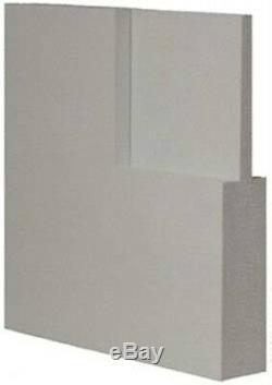1 Panel Primed Flat Mission Shaker Stile & Rail Solid Core Wood Doors Door Slabs