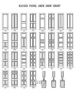 2 Panel Flat Mission Shaker Hemlock Stain Grade Solid Core Interior Wood Doors