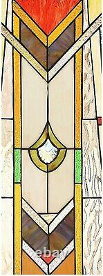 24.6 x 17.7 Royal Mission Tiffany Style Stained Glass Window Panel Home Decor