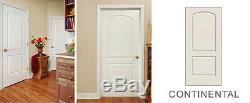 Caiman 2 Panel Arch Top Primed Solid Core Molded Wood Composite Doors Prehung