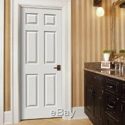 Colonist 6 Panel Raised Primed Solid Core Molded Wood Composite Doors Prehung