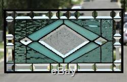 Girls Best FriendStained Glass Window Panel 20 x11