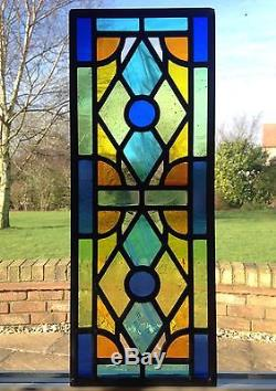 Hand Crafted Stained Glass Window Door Panels Made To Order Commissioned