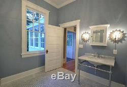 Riverside 5 Panel Raised Primed Solid Core Molded Wood Composite Doors Prehung