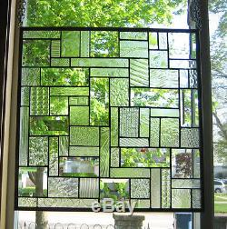 Shimmers like a Diamond Stained Glass Windows Panel