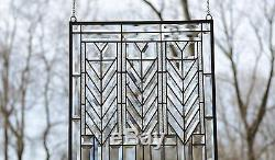 Sold out! Beveled clear window panel FRANK LLOYD WRIGHT TREE OF LIFE 2034