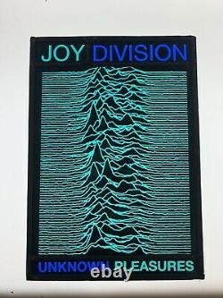 Stained Glass Panel Joy Division Unknown Pleasures