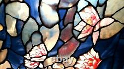 Stained Glass Panel Louis Comfort Tiffany 1988 Water Lily Glassmaster (Monet)