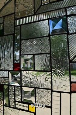 The Choice Is Clear 20 Inch Stained Glass Window Panel