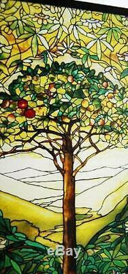 Tree of Life Art Glass Panel