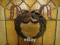 Vintage Stained Glass Window Panel (1962)NS