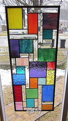 Zephyr Stained Glass Windows Panel